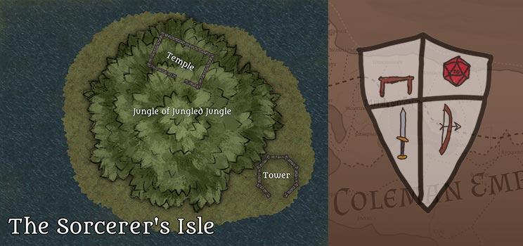 The Sorcerer's Isle